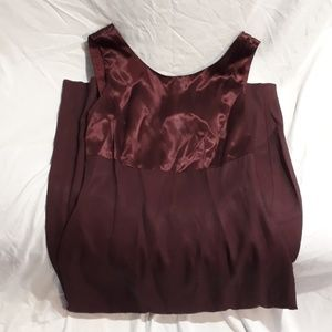 Womens Caren Desire Company Maroon Dress Size 8